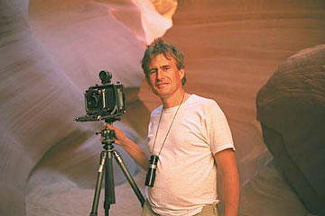 Alain photographing in Antelope Canyon