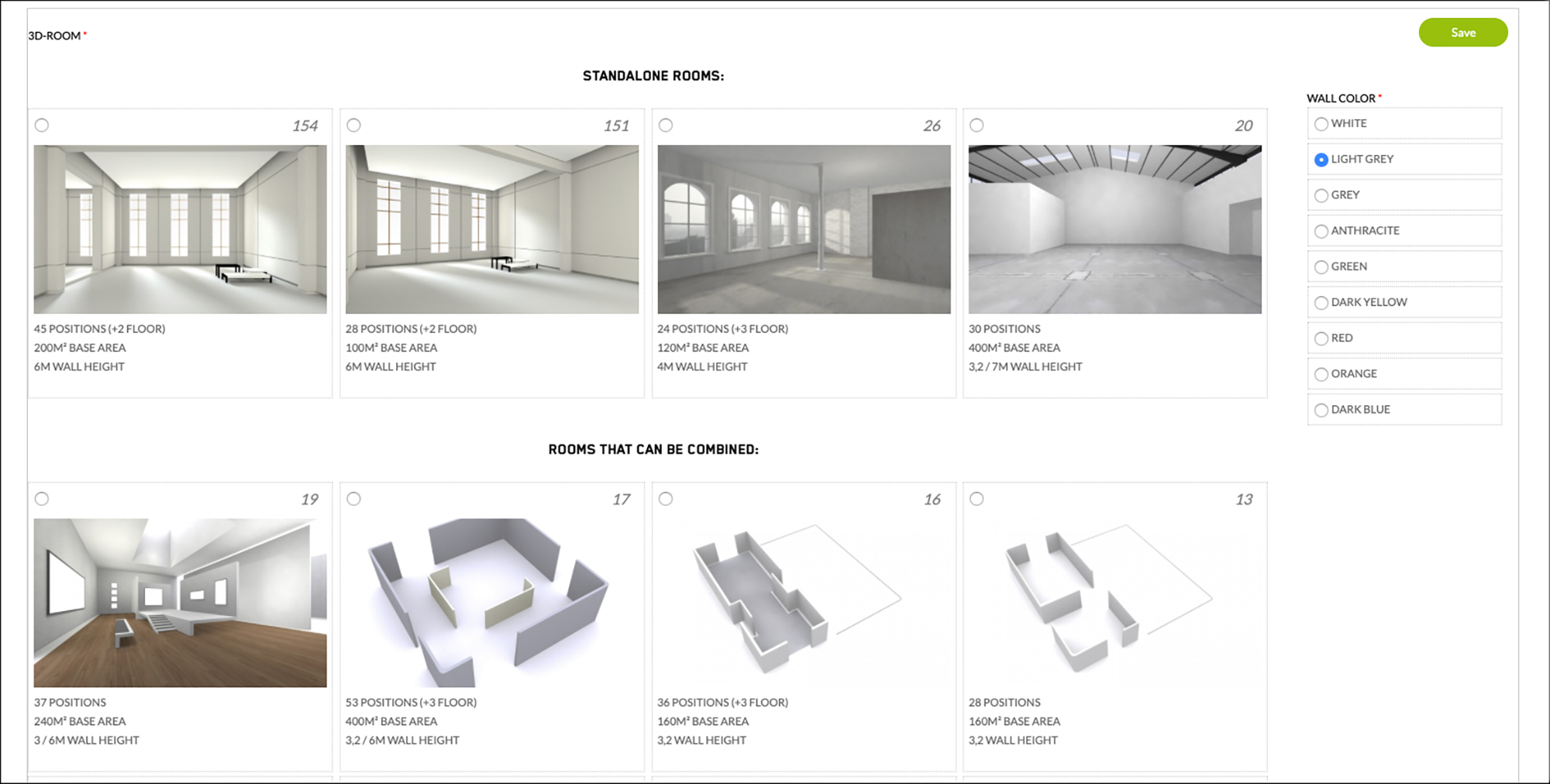 Kunstmatrix Utilizes a Room Metaphor