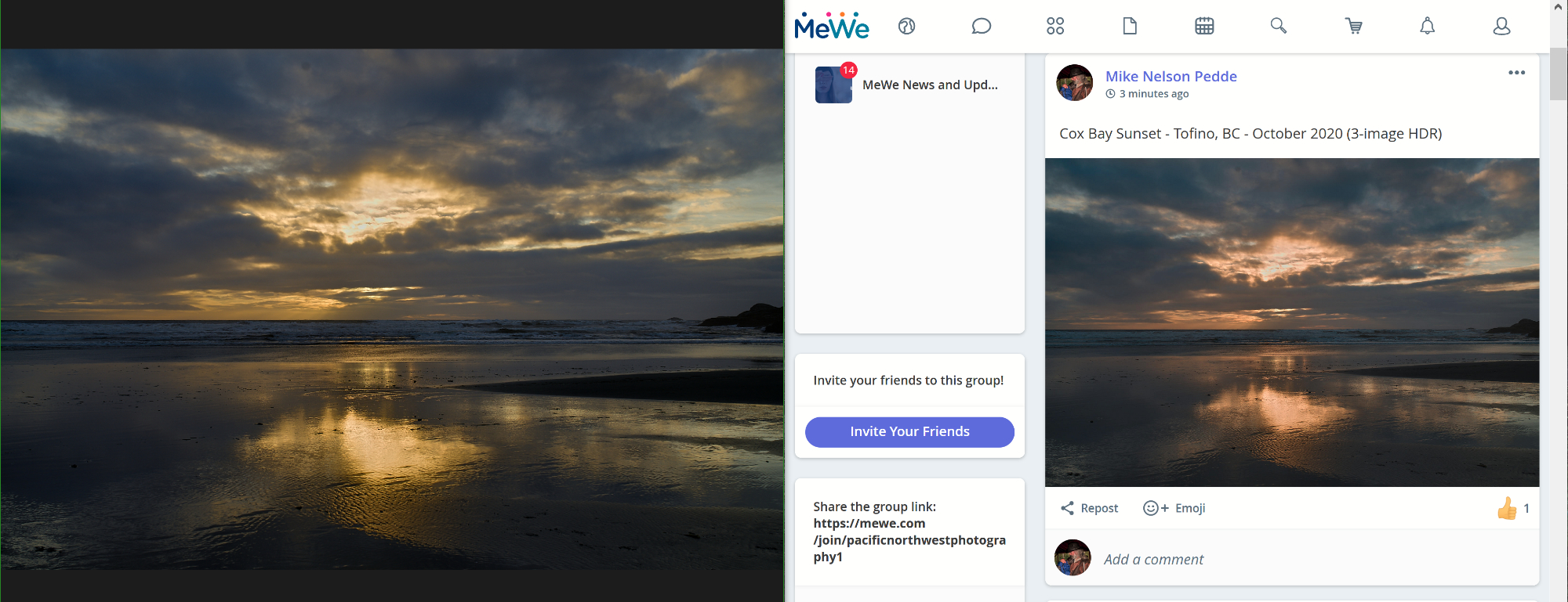 MeWe-Compare