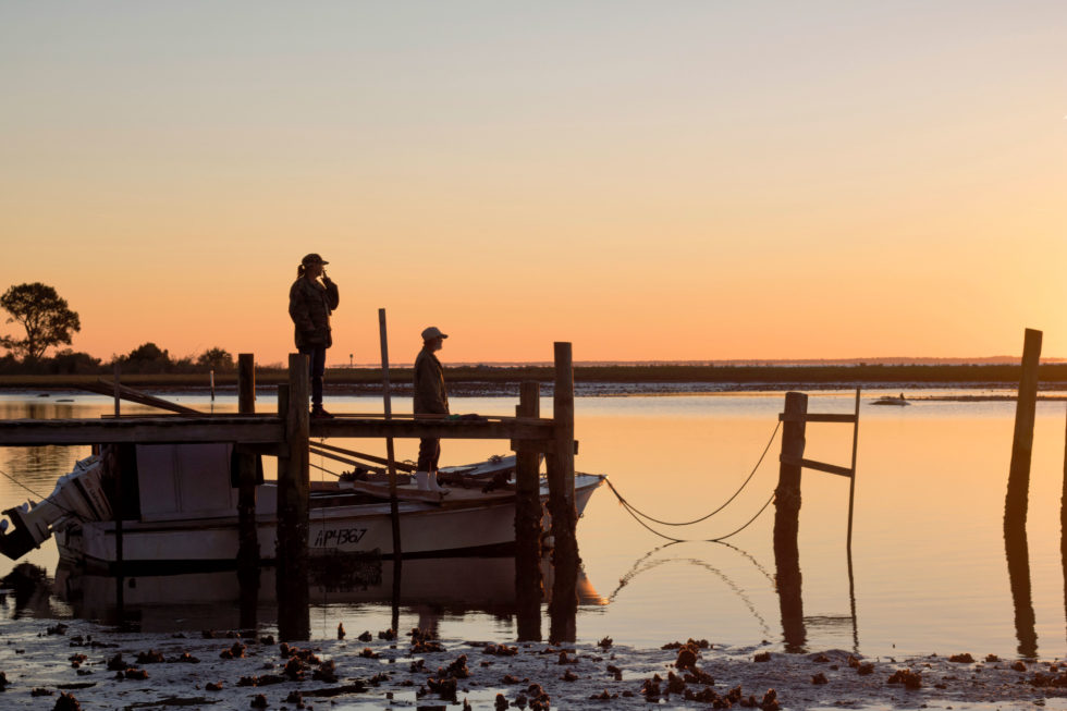 Sunrise On Oyster Bay