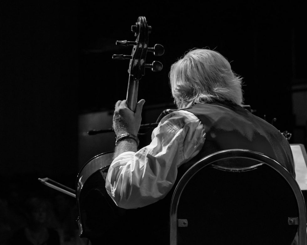 Turtlefoot's Cellist, Guitar Player, Singer…you name it, he plays it.