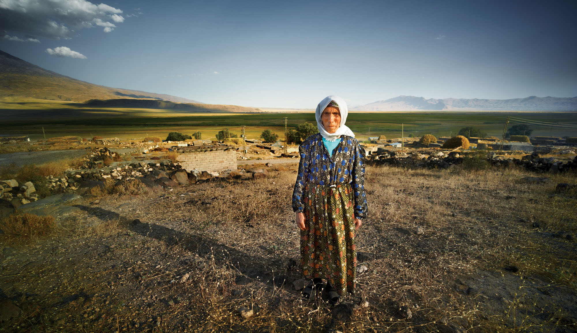 Kurdish woman, Eastern Turkey. Phase One A-Series, P65+, 23mm lens, f8 @ 1/30 second, ISO 50