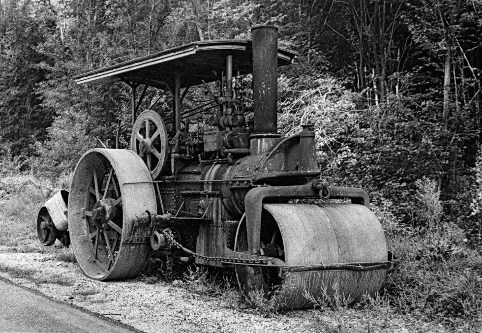 Steamroller, ~ 1970