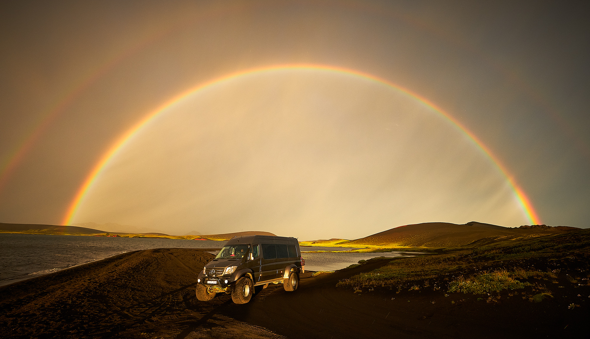 There is always a photo opp in Iceland
