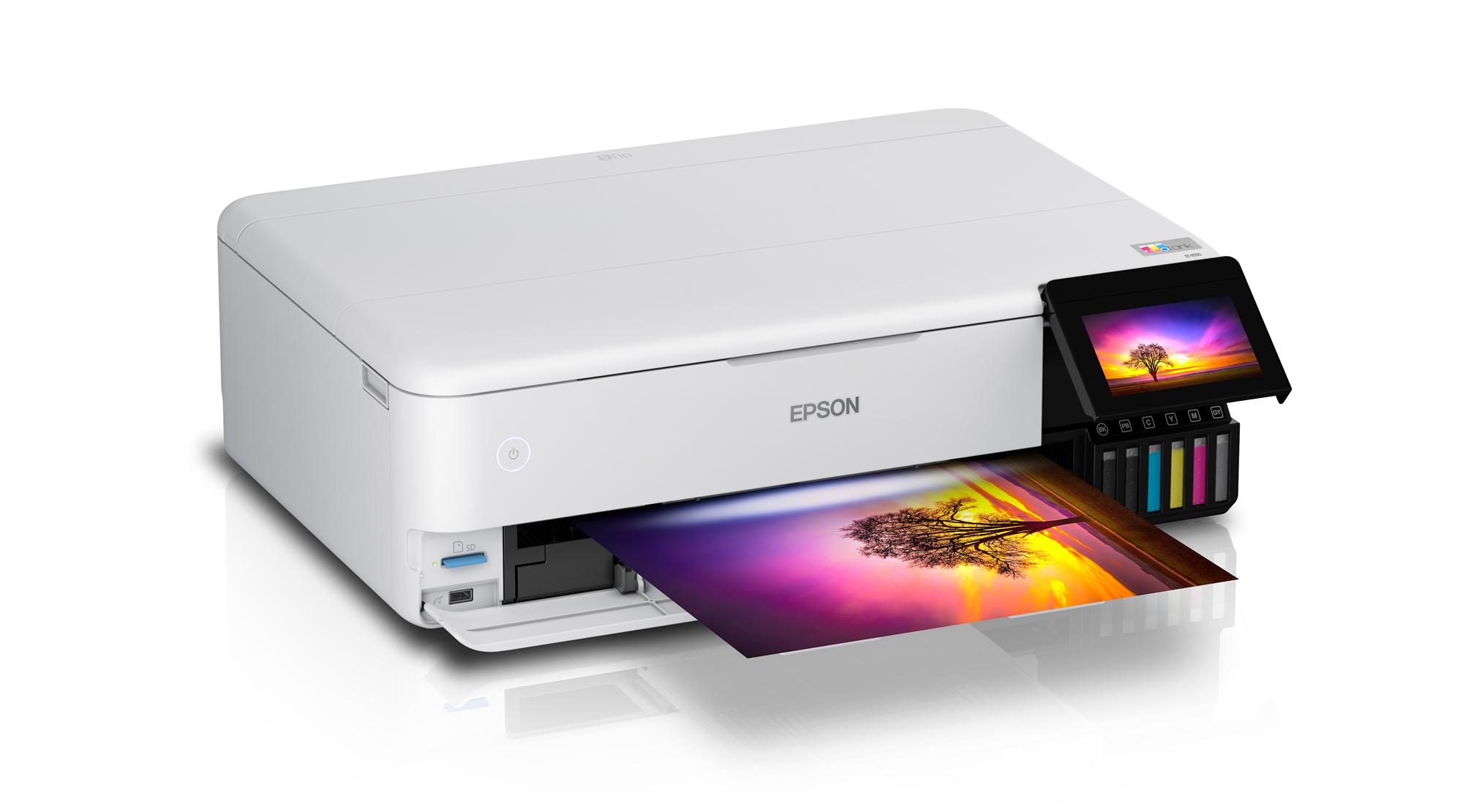 The epson ET-8550 Printer
