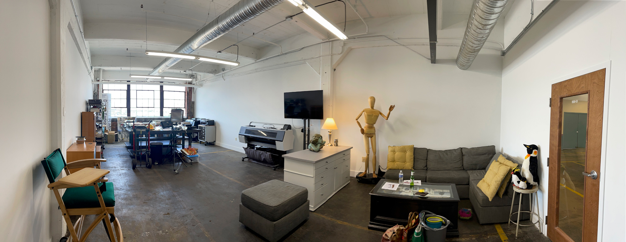 Our new location in the Stutz Building