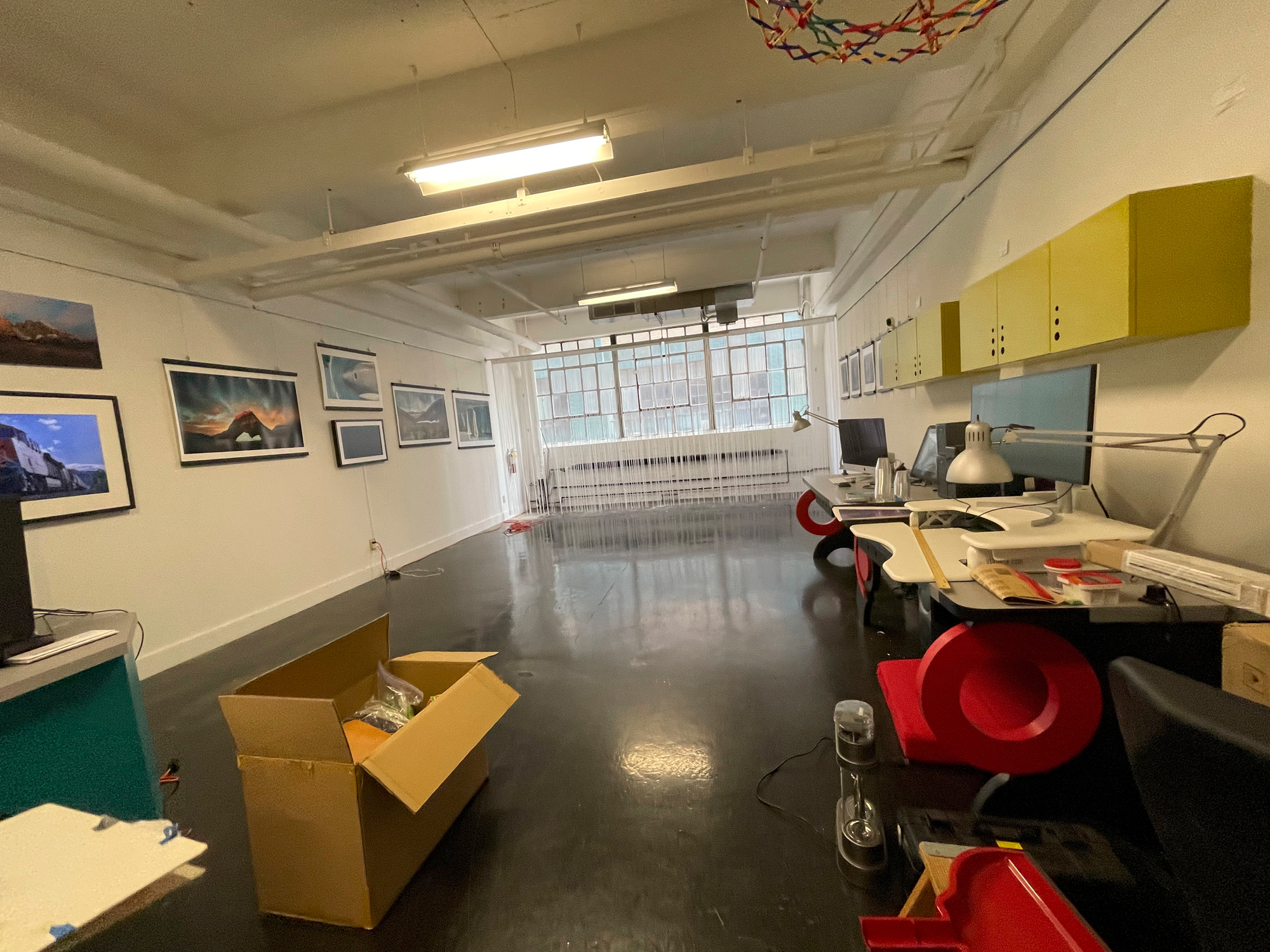Our old space is now just about empty