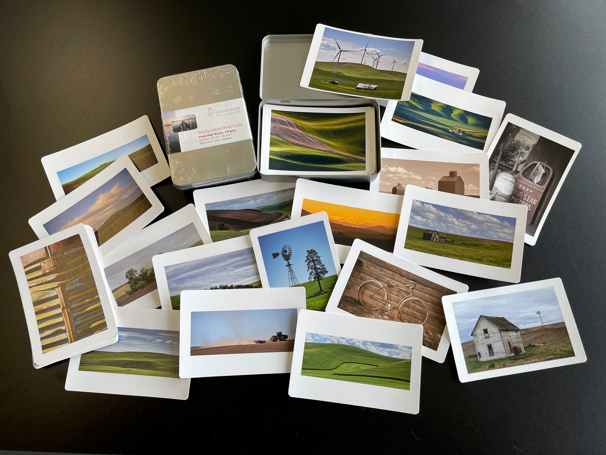 This printer is great for printing on Hahnemuhle Fine Artn InkJet Phot Cards. I use these all the time as way of sharing my images as well as perfect gifts.