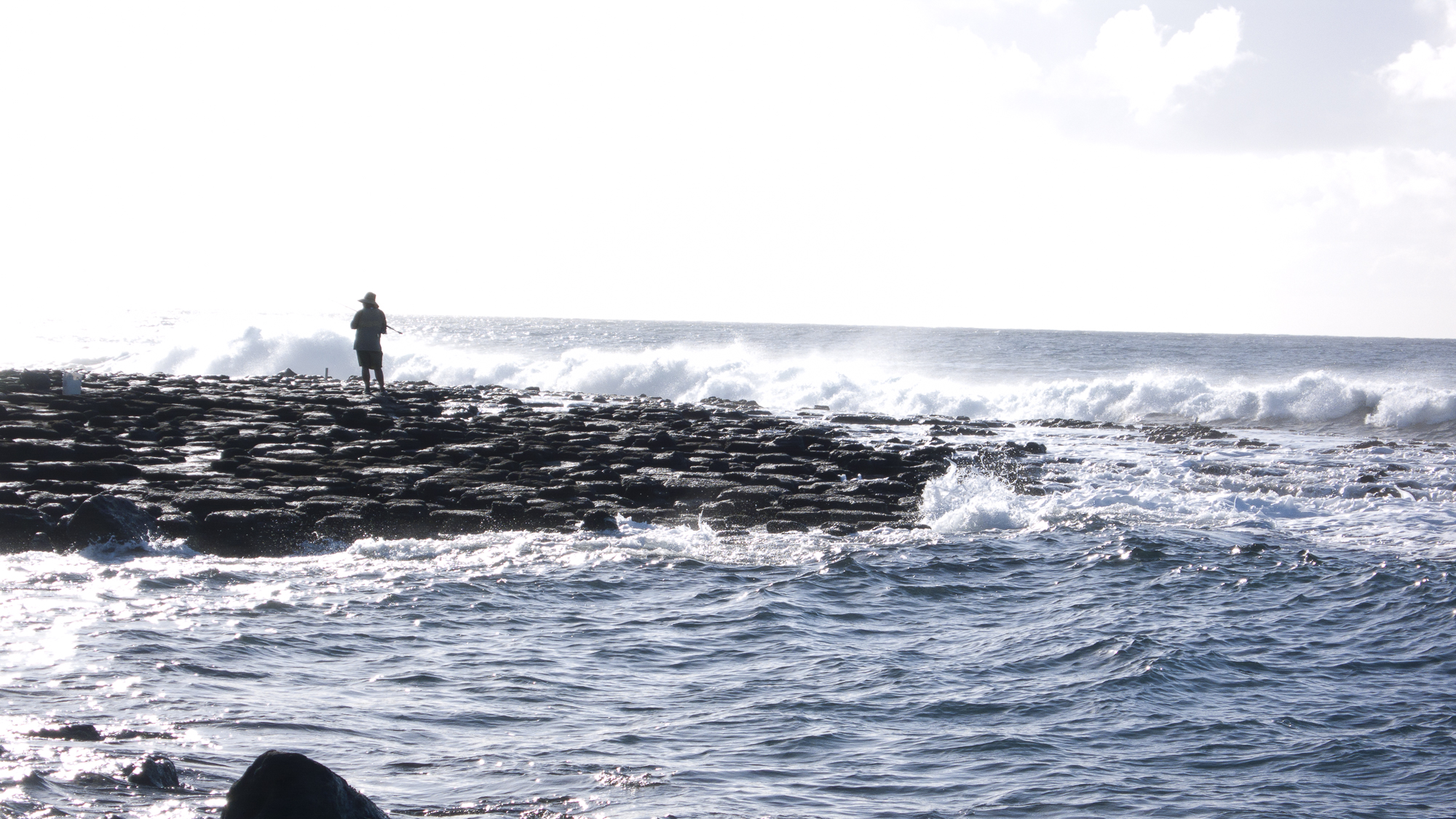 Old Man and the Sea, RAW image