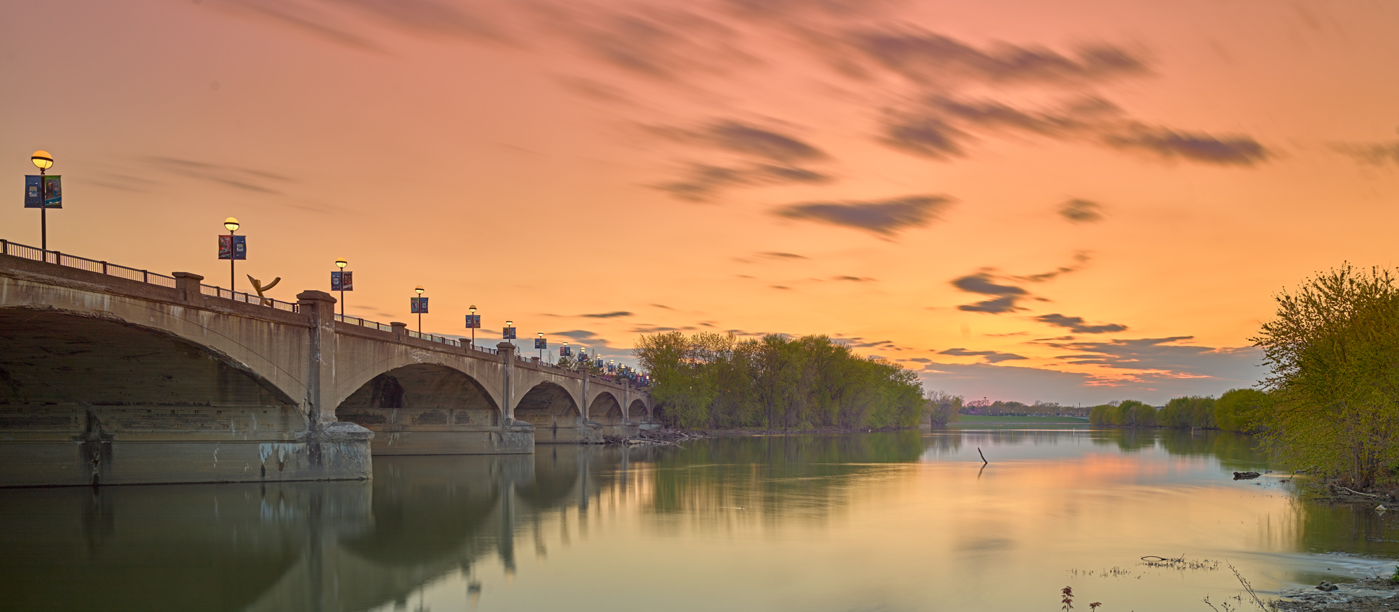 The White River Indianapolis, Photo by Michael Durr