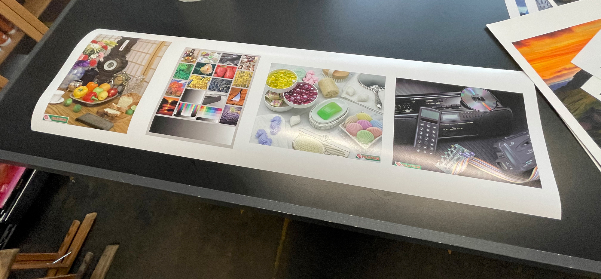 We are always evaluating the images coming off the printers