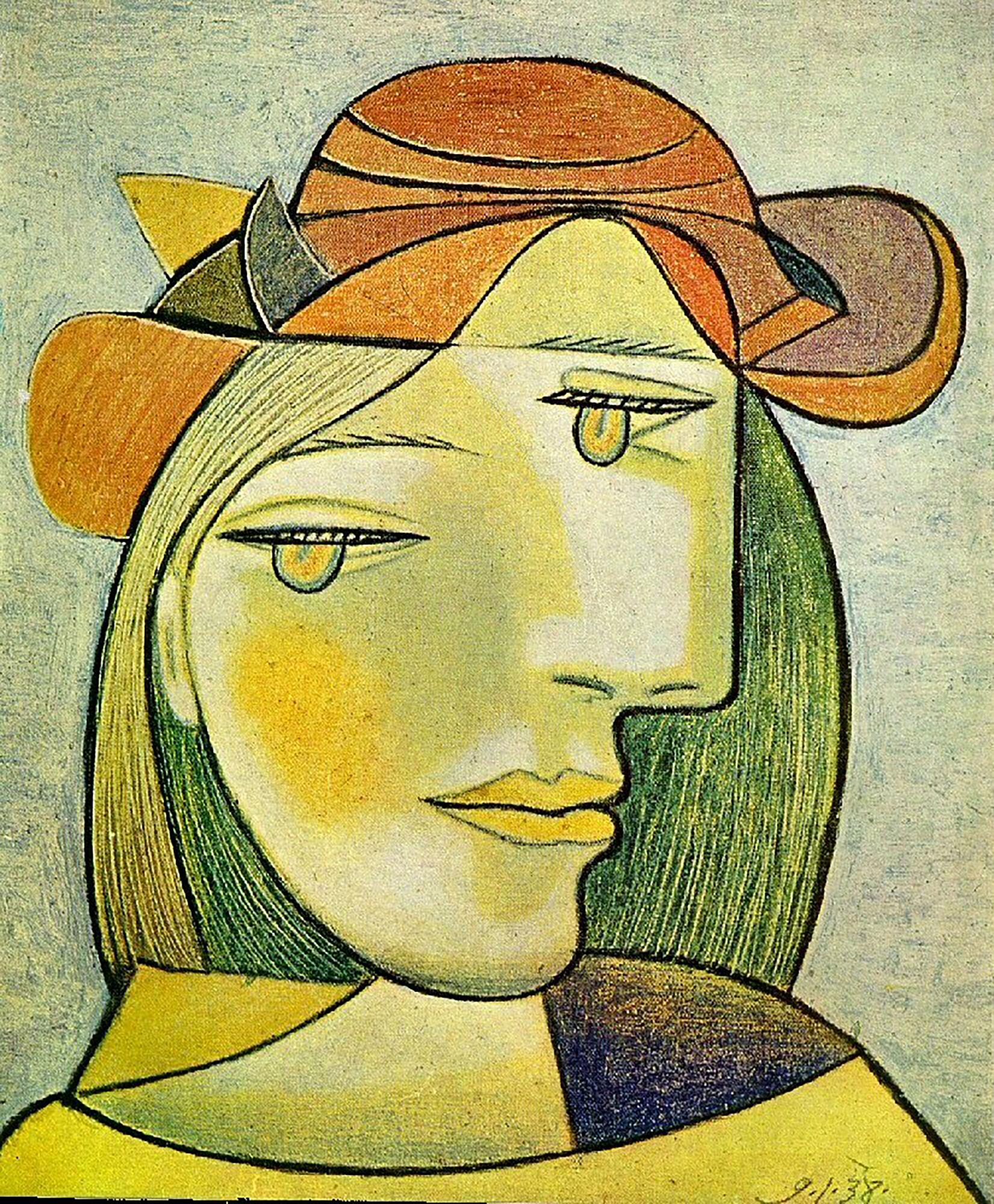 Portrait de Femme Pablo Picasso, 1938
