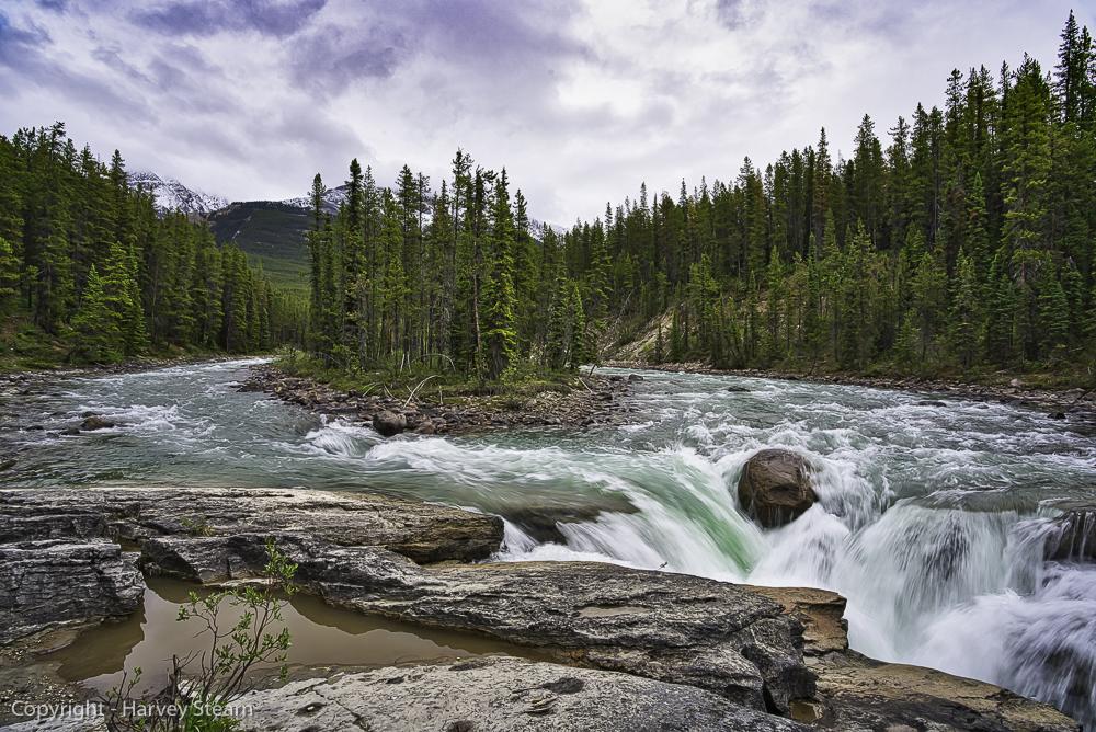 Upper Sunwapta Falls, Jasper NP, Sony A7riii, 16mm, 1/20s