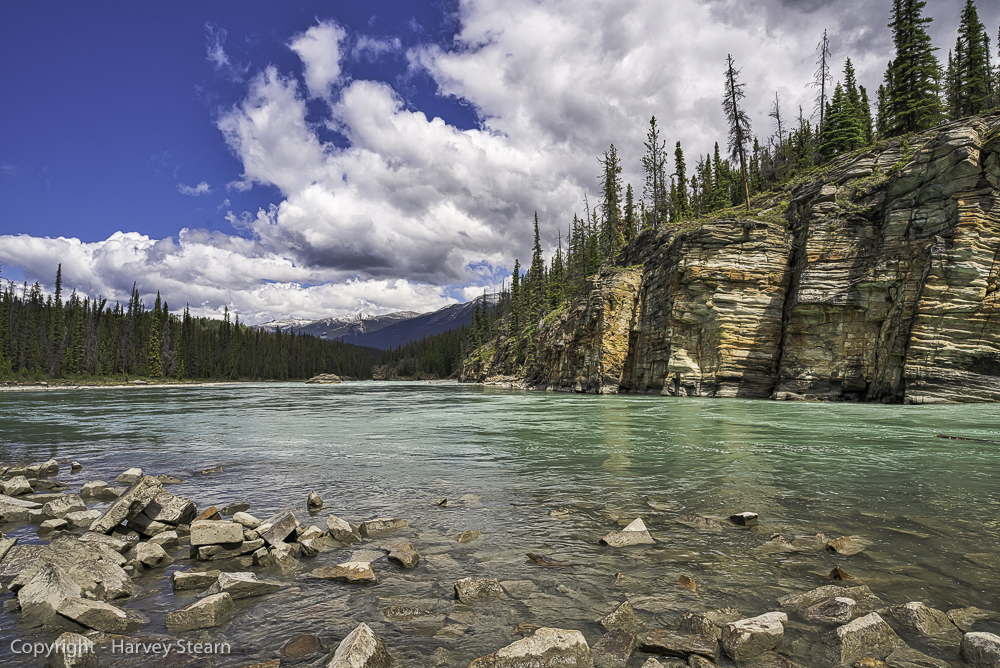 Athabasca River, Jasper NP, AB