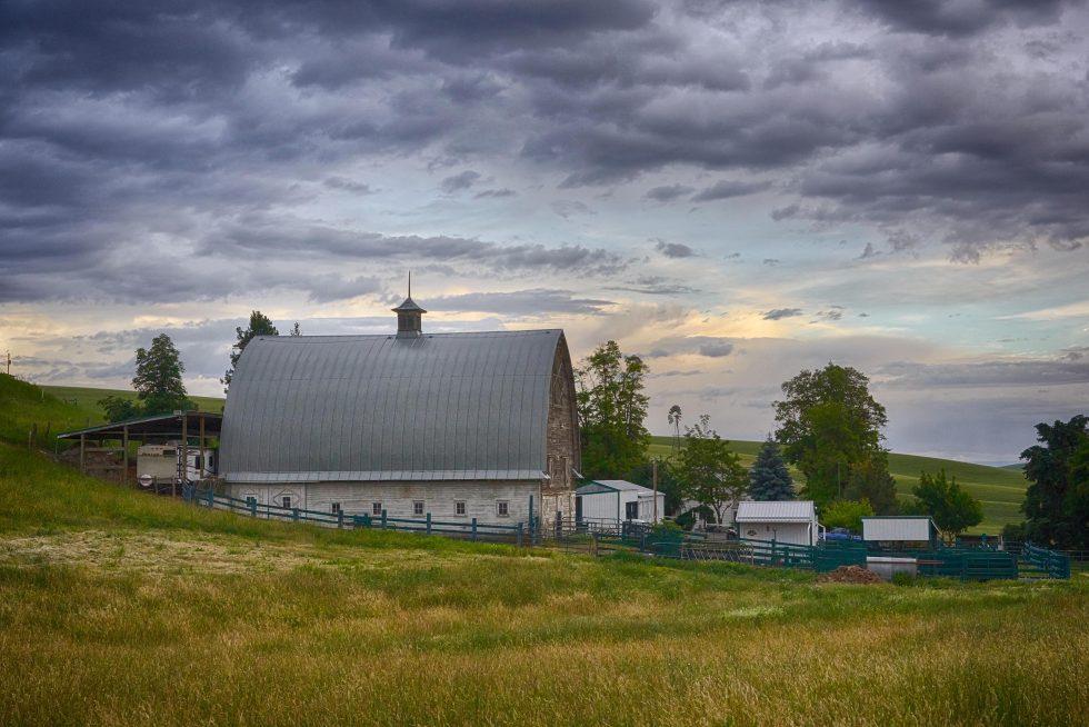 Farm In The Palouse