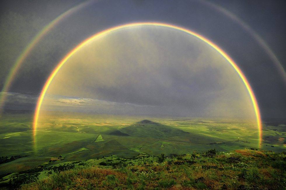 Palouse Rainbow