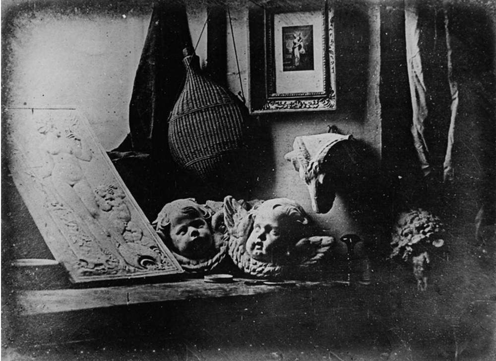 Earliest reliably dated daguerreotype, 1937,Daguerre