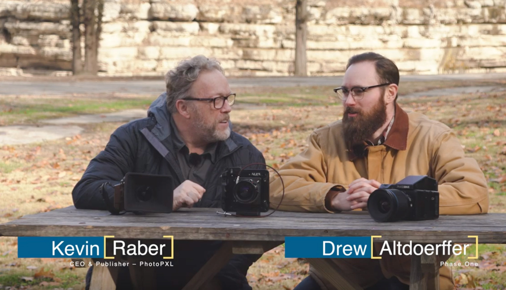 Kevin Raber and Drew Altdoerffer discuss the NEW Phase One IQ4 151 MP digital back