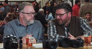 Kevin Raber and Phil Gibson share a thought on mirrorless cameras