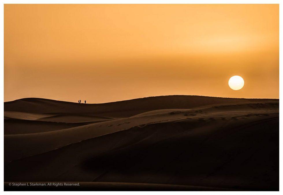 Sunrise, Sahara, Morocco