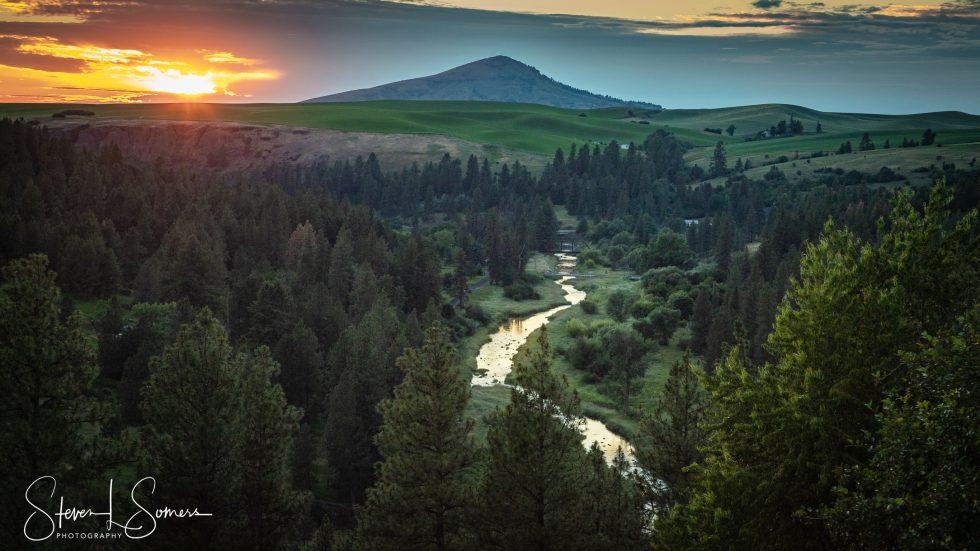 Palouse Sunset 3
