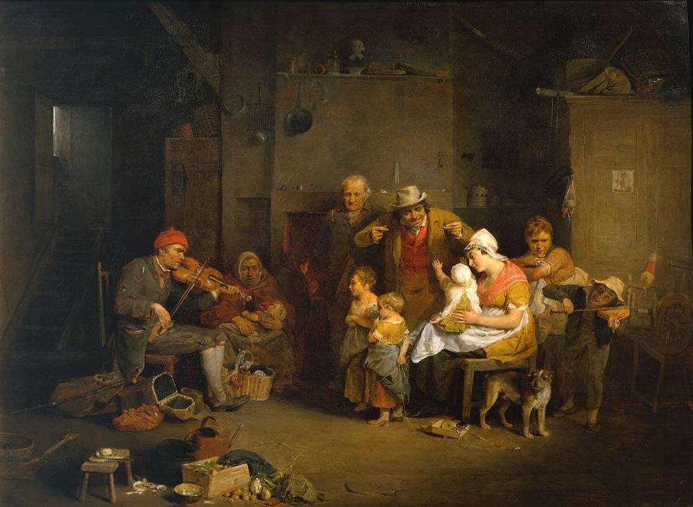 Blind Fiddler by David Wilkie