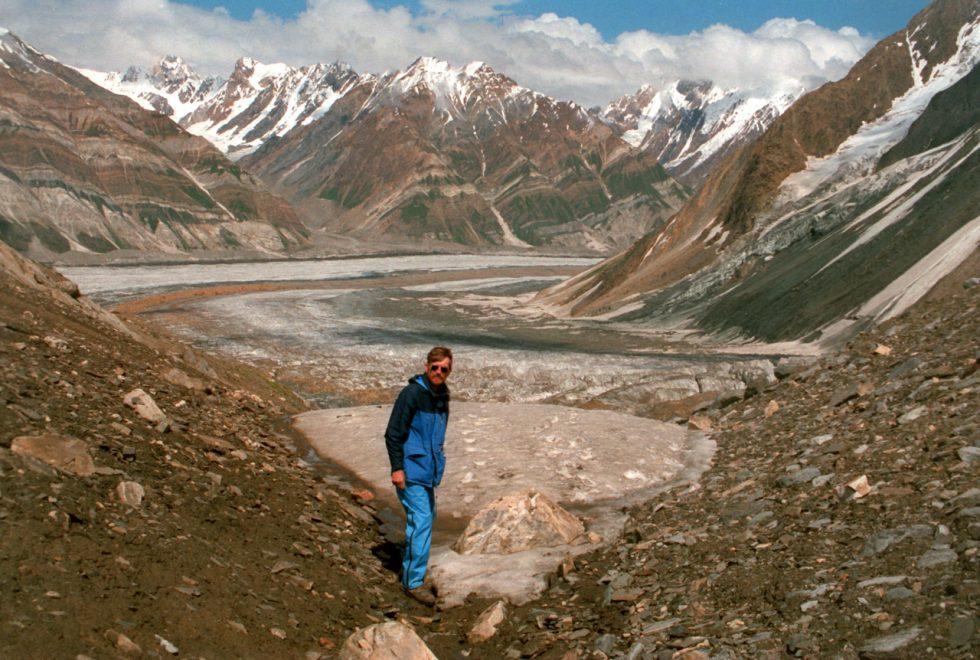 Self portrait somewhere in the Karakoram.