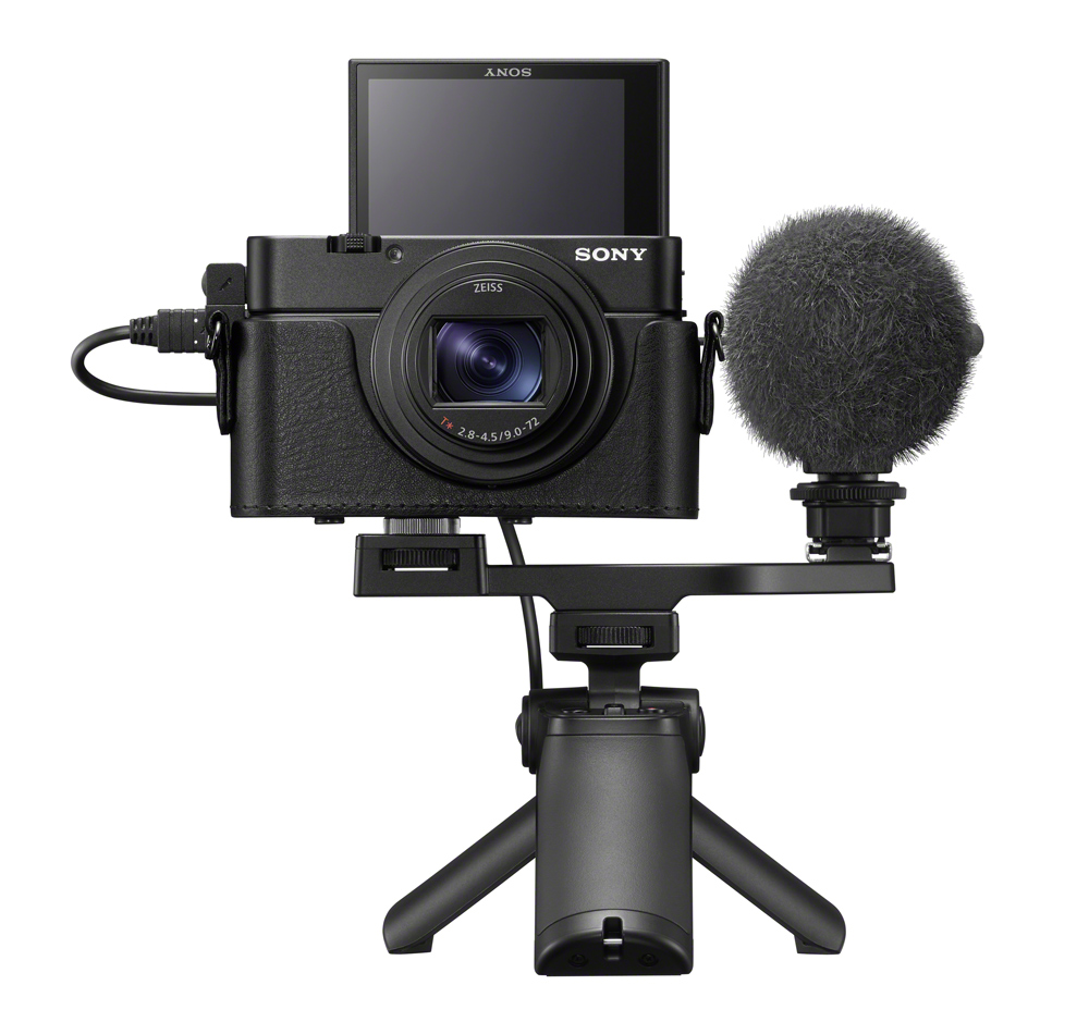 Sony RX100vii with Video rig set up