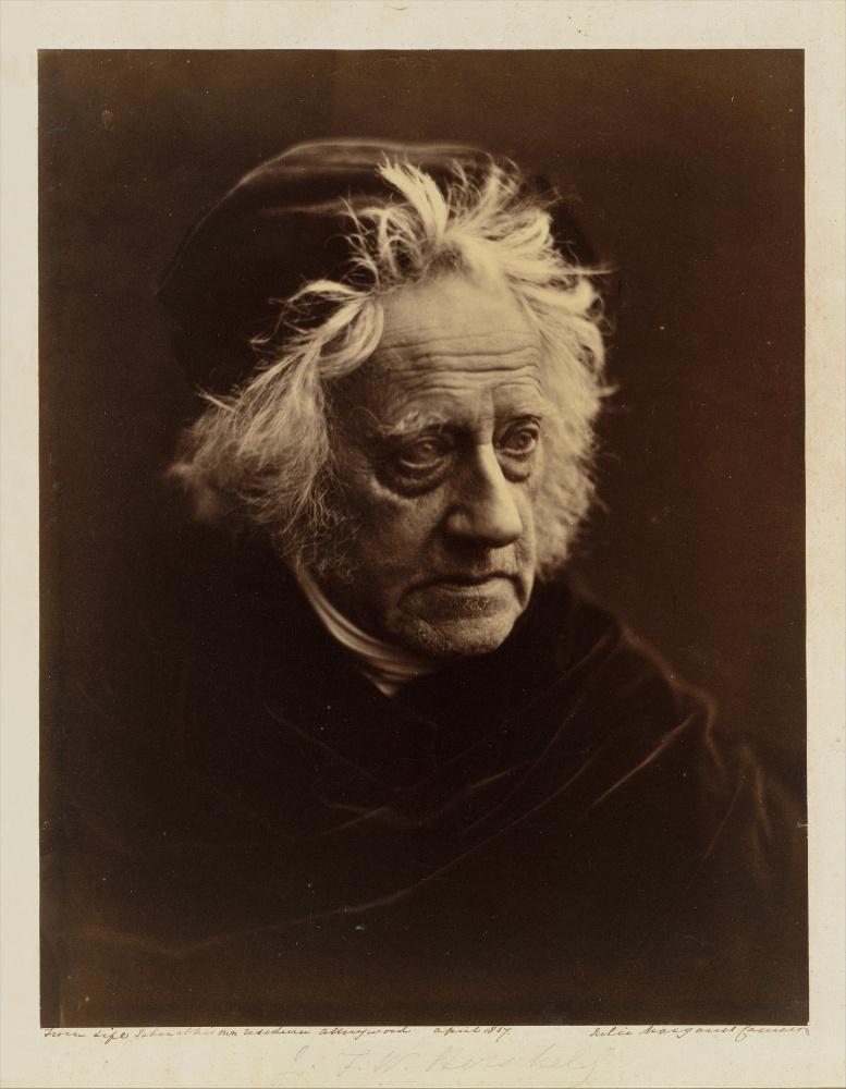 Portrait of Herschel by JuliaCameron