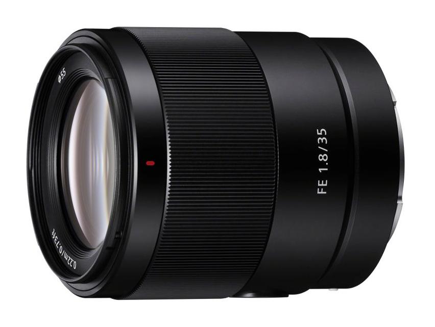 Sony FE 35mm 1.8 lens