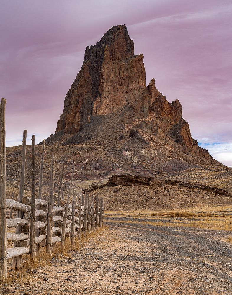 """Agathla Peak, Navajo Reservation, 2011"""