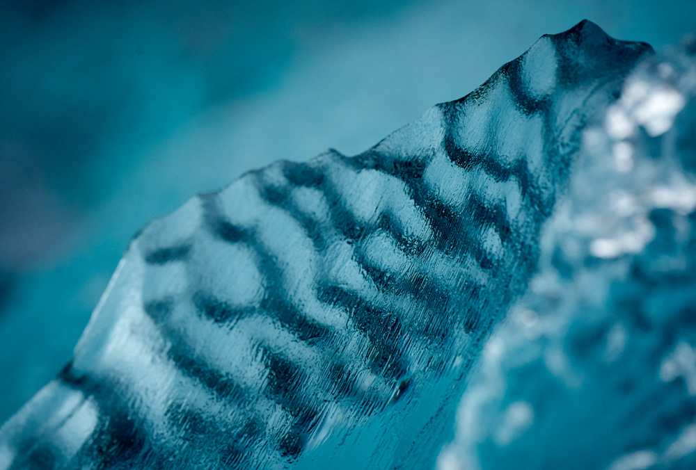 Iceberg Abstract close-ups made with the Sony a7riii and 100-400mm lens