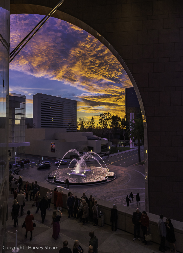 Orange County Performing Arts Center during Intermission