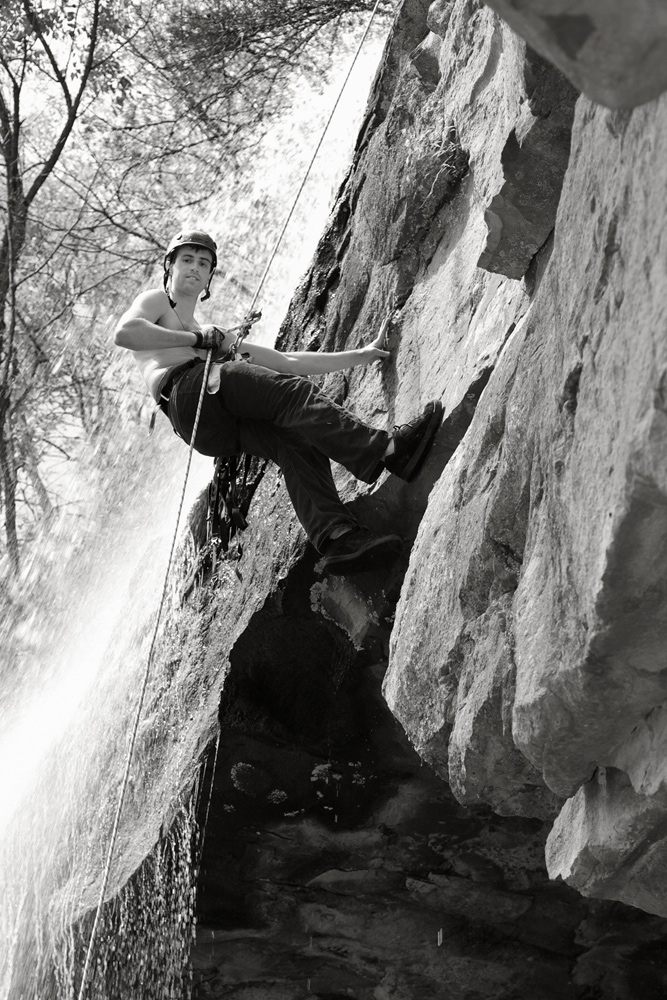Figure 3 Cropped North Ga Rappelling L. A. Lewin