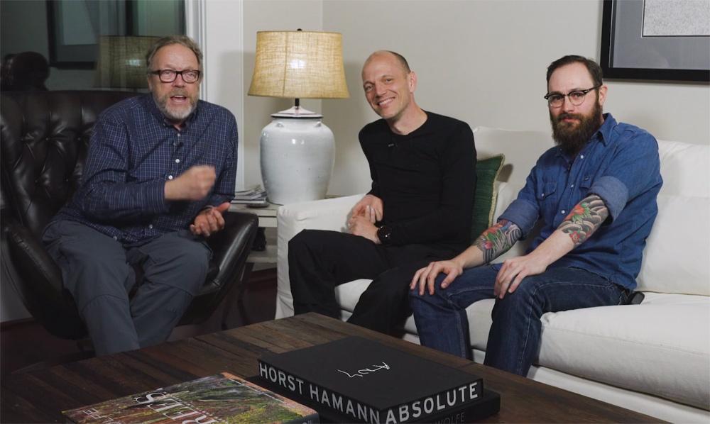 3 guys talking photography