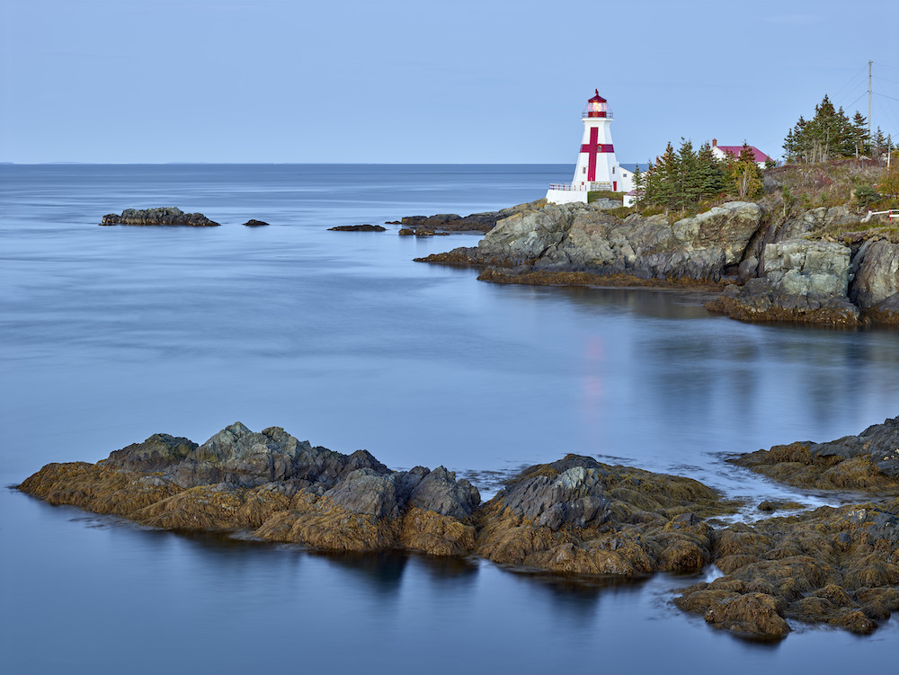 East Quoddy Lighthouse from Campobello Island