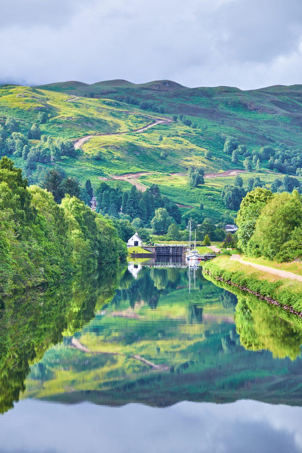 Caledonia Canal Scotland