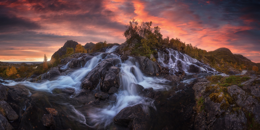 'Waterfall', Lofoten, Norway – Carlos F. Turienzo carlosfturienzo.com