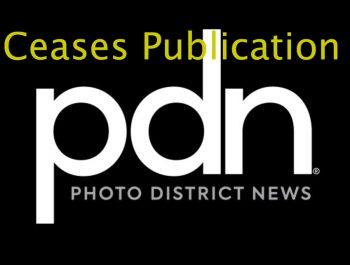 PDN Photo District Ceases Magazine Publication