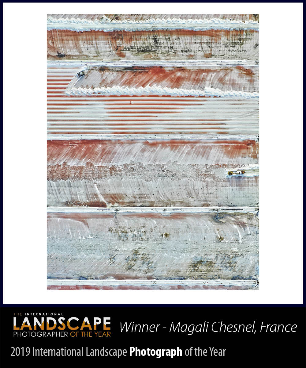 The winner of the sixth International Landscape Photograph of the Year (awarded for a single image) is Magali Chesnel from France.