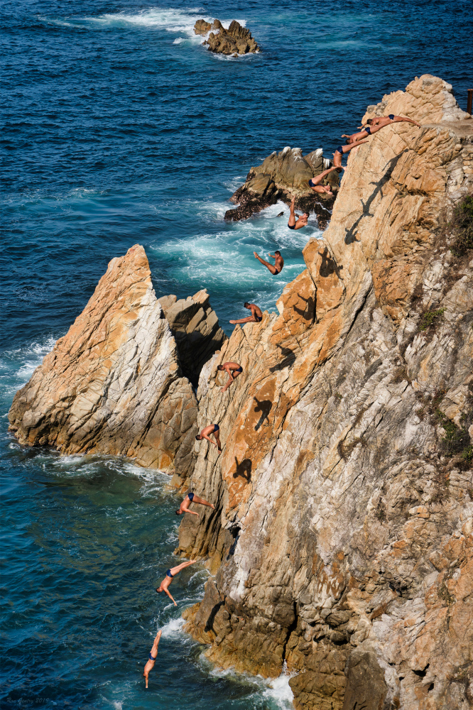 Cliff Diver Composite