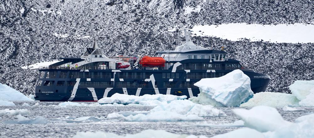 The Magellan Explorer our expedition ship