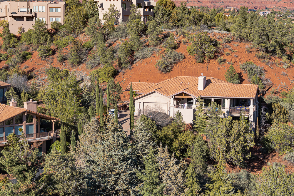 """Central area of """"West Sedona"""" image at 1:1"""