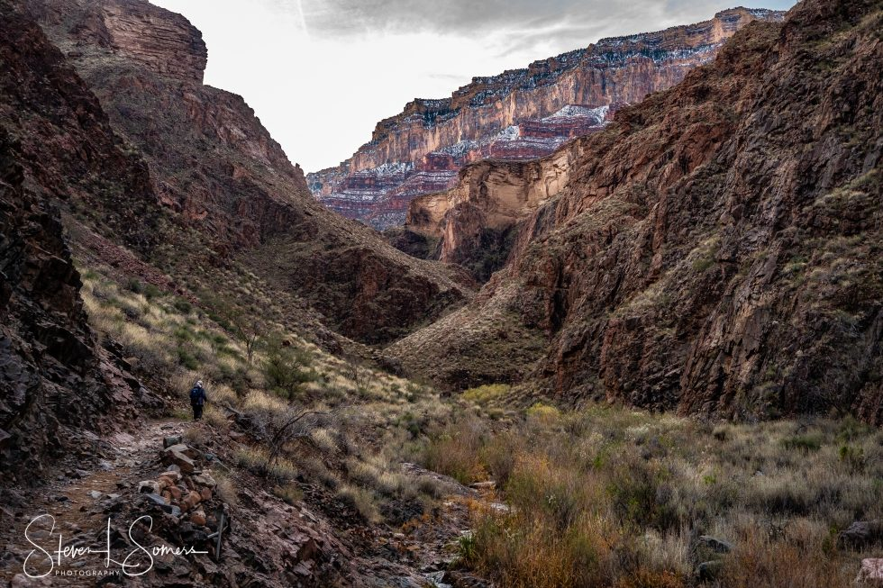 Hiking the Bright Angel Trail, Grand Canyon