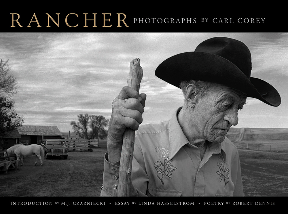 The book RANCHER: Photographs of the America West