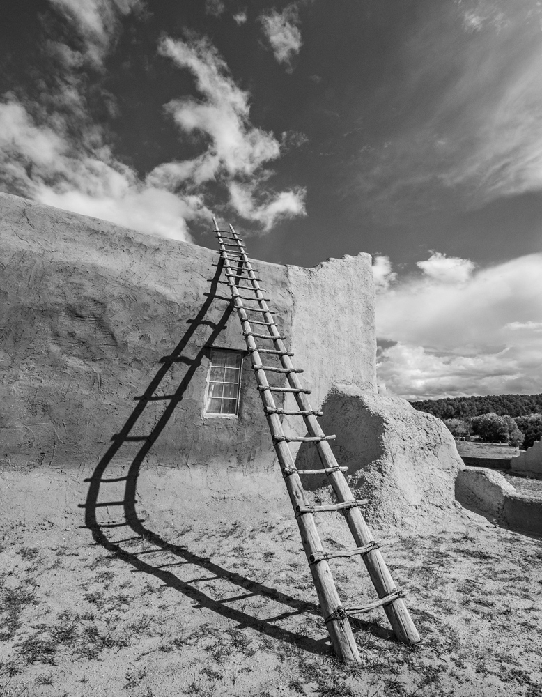 Mission and Ladder, Northern New Mexico