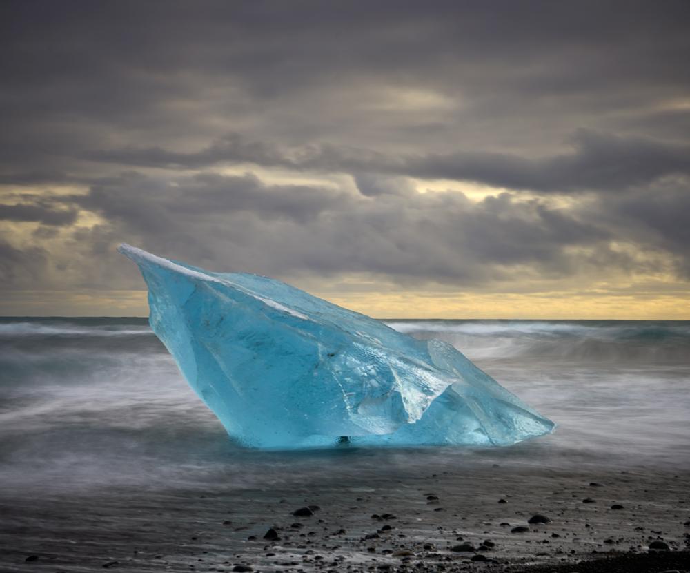 The iceberg beach