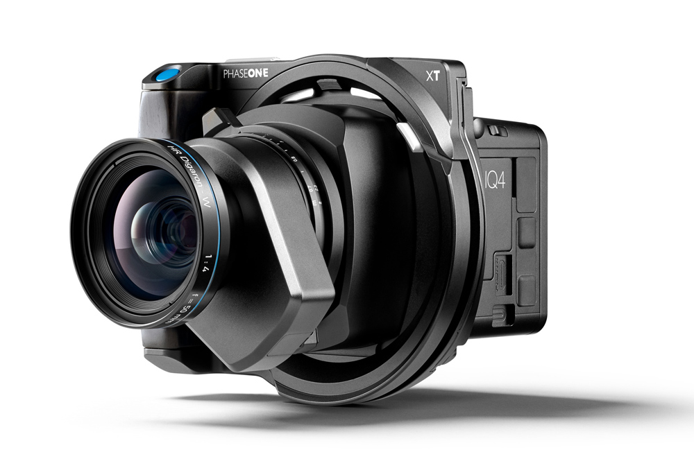 Phase One XT IQ4 with 50mm lens