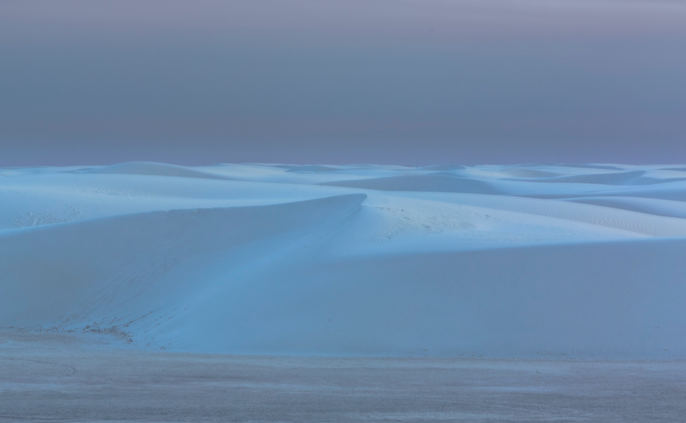 White Sand Blue Hour  -  Doug Turner