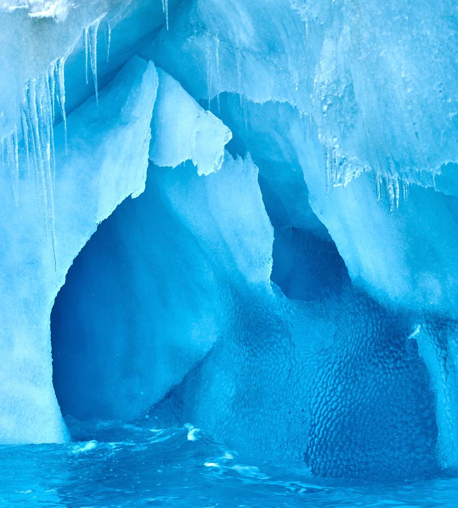 Ice up close in Pleneau Bay
